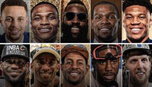 NBA – Les 5 derniers MVP vs. les 5 derniers FMVP, qui gagne ?