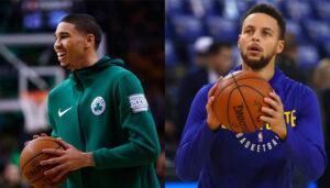 NBA – Le gros compliment de Jayson Tatum pour Stephen Curry