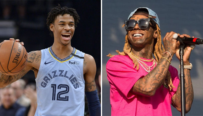 Lil Wayne a eu des mots forts pour Ja Morant