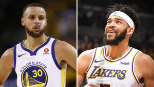 NBA – JaVale McGee piège Steph Curry au pendu