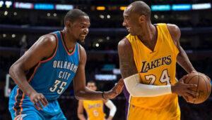 NBA – Kevin Durant dévoile pourquoi il se « ch*ait dessus » face à Kobe Bryant