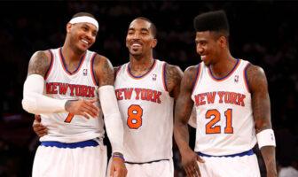 Les Knicks de Carmelo Anthony version 2012-2013 resteront dans l'histoire de la franchise