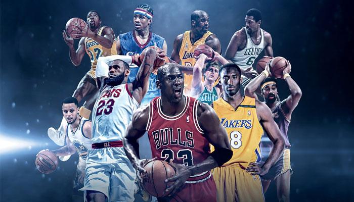 Les meilleurs joueurs de l'histoire de la NBA