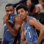 NBA – Le dégoutant accueil de Gilbert Arenas à Nick Young après sa draft