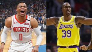 NBA – Les 2 mots de Russell Westbrook à Dwight Howard pour l'accueillir aux Lakers