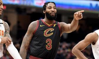 Andre Drummond sous le maillot des Cleveland Cavaliers