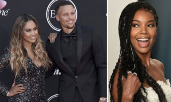 Ayesha Curry, Stephen Curry et Gabrielle Union