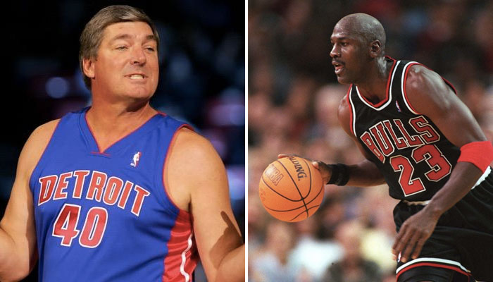 Bill Laimbeed Bulls Michael Jordan pleurnichards