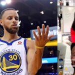 NBA – Steph Curry fait perdre la boule à JaVale McGee en plein live