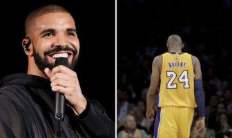 NBA - Drake rend hommage à Kobe dans son dernier clip !