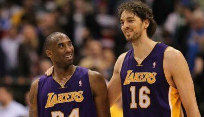 NBA – Le nouveau geste ultra émouvant de Pau Gasol pour la famille Bryant
