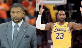 La prédiction osée de Jalen Rose sur LeBron et les Lakers