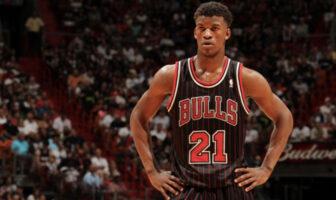 Jimmy Butler sous le maillot des Chicago Bulls