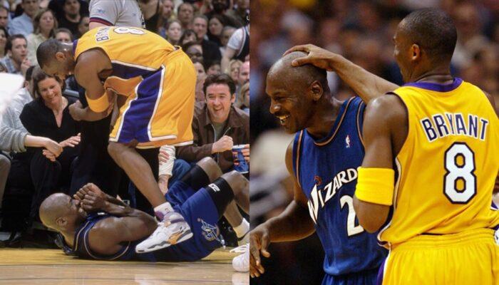 Quand Michael Jordan trash-talkait Kobe Bryant... au sol