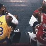 NBA – Les 4 seuls joueurs qui ont été coéquipiers de LeBron et Jordan