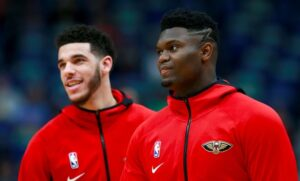 NBA – Lonzo Ball explique comment bien servir Zion en alley-oop