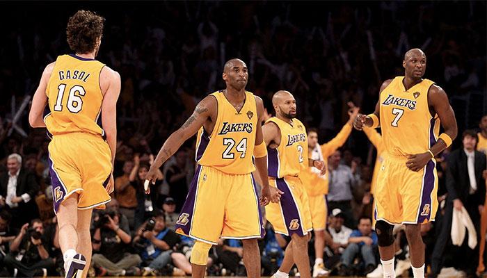NBA - Les 3 joueurs les plus sous-côtés dans le back-to-back des Lakers en 2009/2010