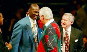 Michael Jordan et Bobby Knight