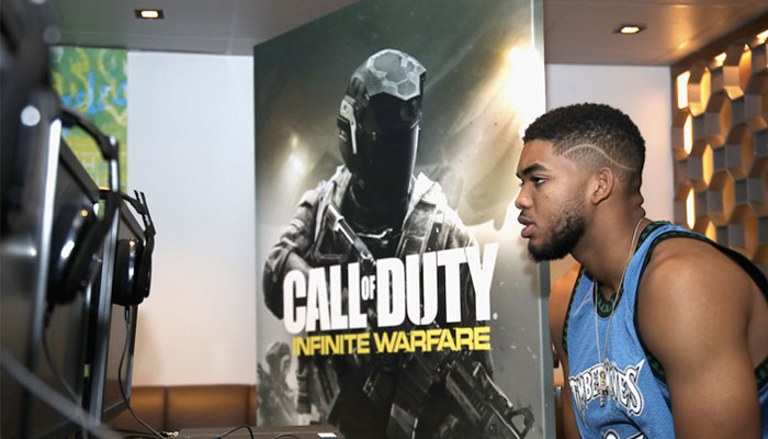 Joueurs NBA Call of Duty