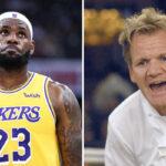 NBA – LeBron fait une demande insolite au célèbre cuisinier Gordon Ramsay