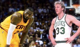 LeBron James Larry Bird MVP NBA