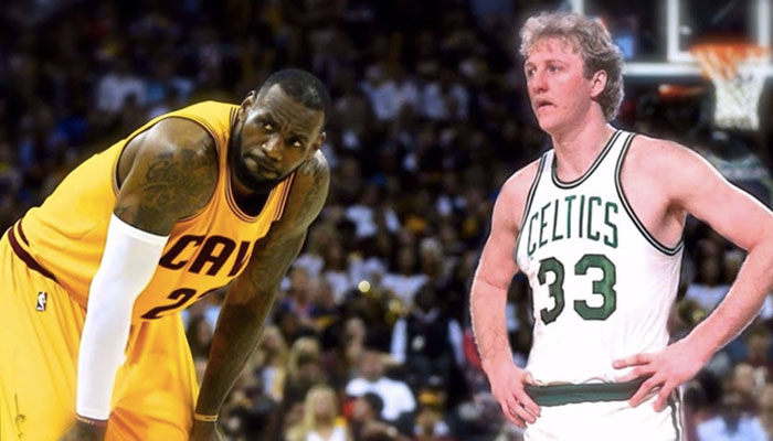 LeBron James Larry Bird MVP NBA