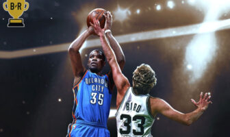 Kevin Durant contre Larry Bird MVP