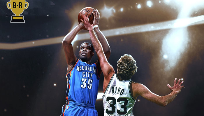Kevin Durant contre Larry Bird MVP