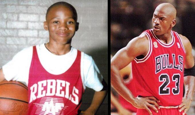 Russell Westbrook et Michael Jordan