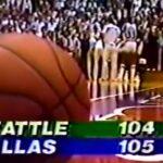 NBA – 26 avril 1984 : La fin de match la plus étrange de l'histoire
