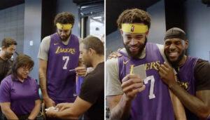 NBA – McGee, Davis et LeBron subjugués par un tour de magie