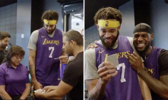 NBA - McGee, Davis et LeBron sciés par un tour de magie