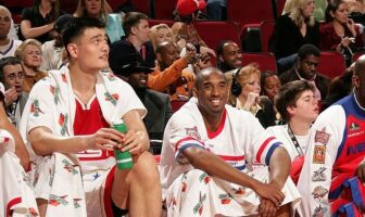 Yao Ming et Kobe Bryant