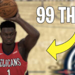 NBA – 2K20 : il cheate un Zion Williamson avec 99 à trois-points !