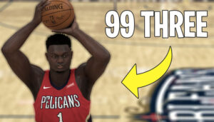 NBA – 2K20 : il cheate un Zion Williamson avec 99 à trois-points !