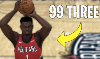 Zion Williamson create 2K20 99 à trois-points