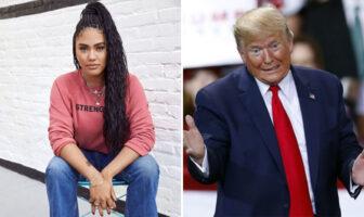 Ayesha Curry s'en est pris à Donald Trump sur Twitter