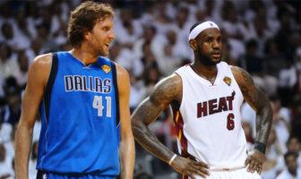 LeBron James et Dwyane seraient à l'origine des Finales 2011 de Dirk Nowitzki