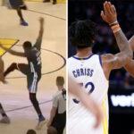NBA – Marquese Chriss raconte les coulisses du jour où Draymond Green l'a frappé