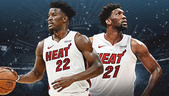 Joel Embiid pourrait bien retrouver Jimmy Butler au Heat en cas de trade
