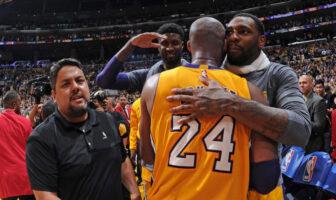 Kobe Bryant a eu un beau message pour Tarik Black avant sa mort