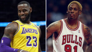 NBA – Un imitateur ridiculise Rodman, LeBron mort de rire