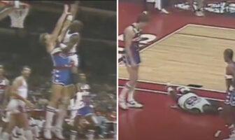 Le premier dunk de Michael Jordan e carrière aurait pu être le dernier