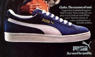 La Puma Clyde était un modèle de référence en NBA