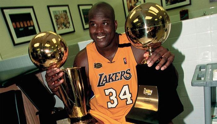 Shaquille O'Neal fait parti des joueurs les plus titrés MVP