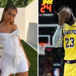 NBA – La maitresse supposée de LeBron répond aux accusations !