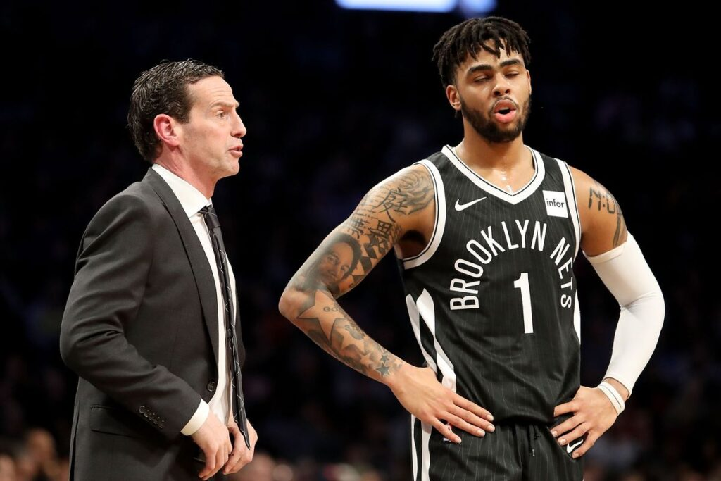 D'Angelo Russell tacle son ancien coach aux Nets