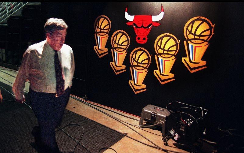 Jerry Krause des Chicago Bulls