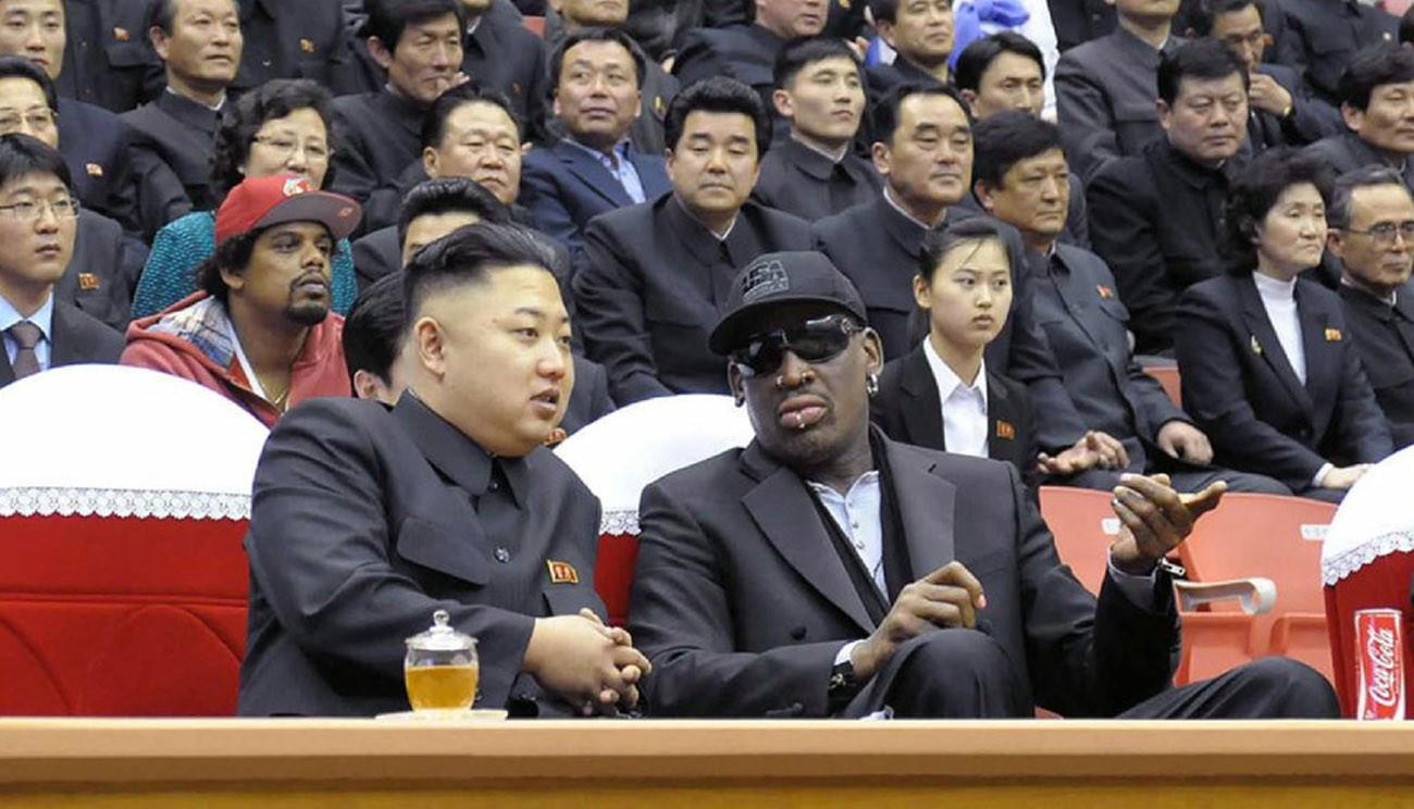 Kim Jong-Un et Dennis Rodman