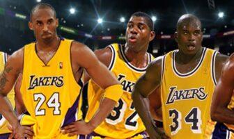 Kobe, Magic et Shaq chez les Lakers
